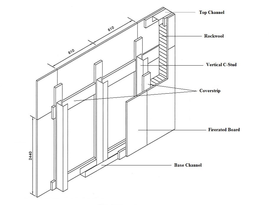 Drywall Partition On Blueprint : Services beauwood plaster design pte ltd